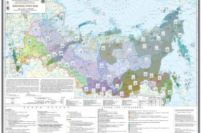Карта «Биомы России»